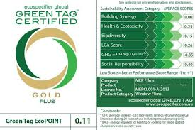 enerlogic green tag certified