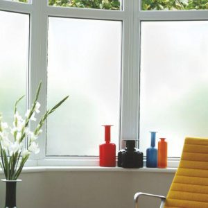 elegant frosted glass