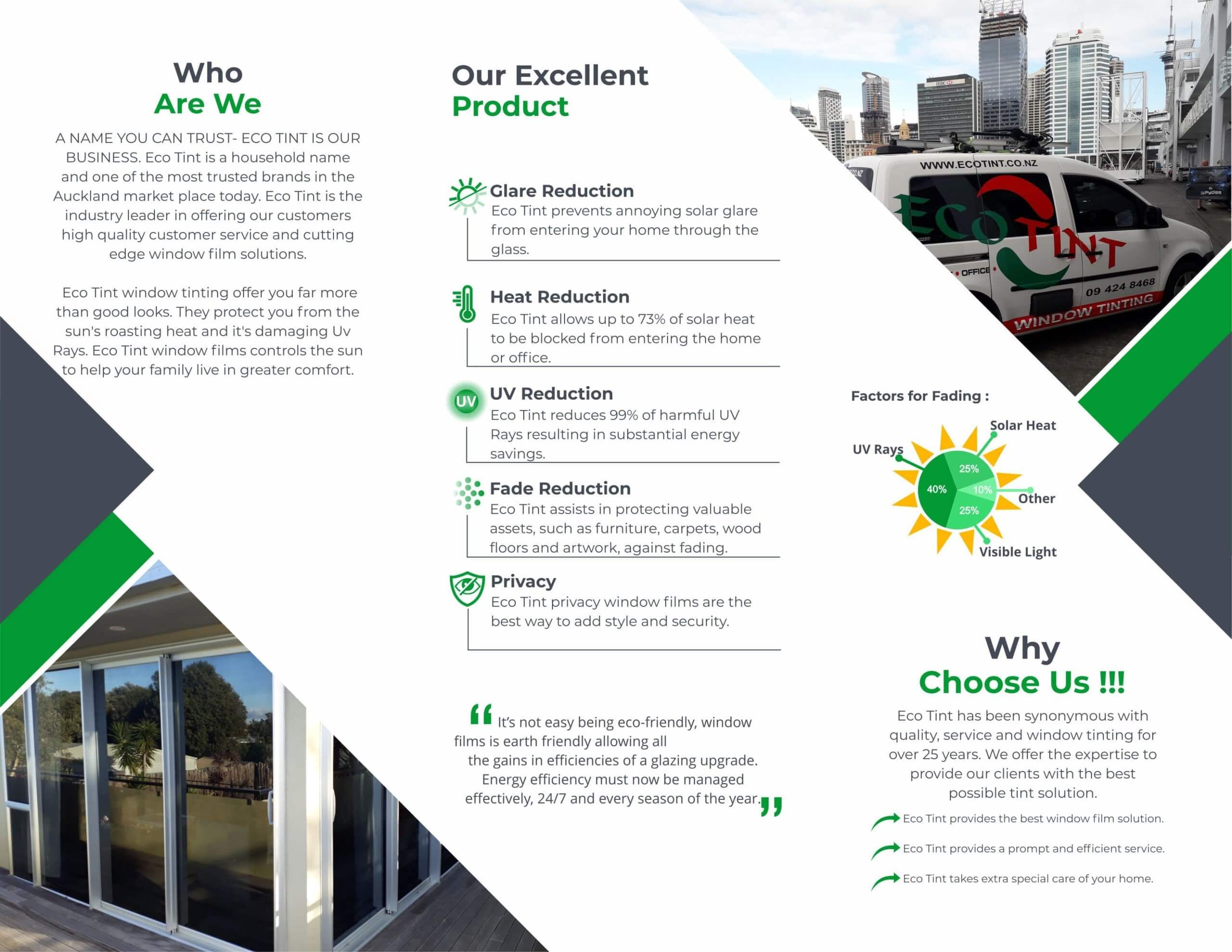 Eco Tint Auckland page